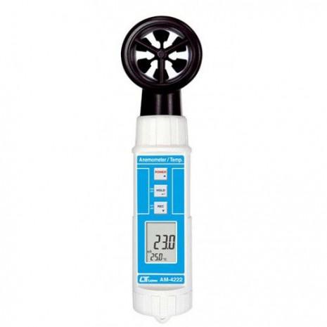 Thiết bị đo tốc độ gió, nhiệt độ môi trường AM-4222