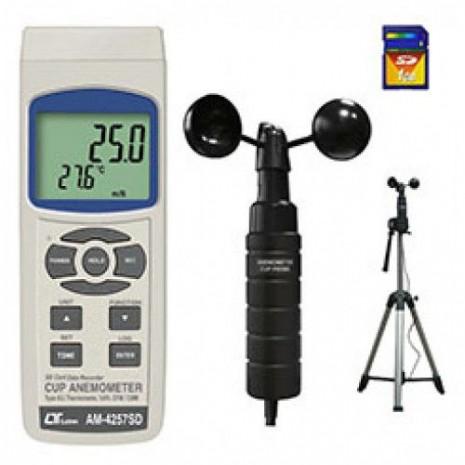 Thiết bị đo tốc độ gió, nhiệt độ môi trường AM-4257SD