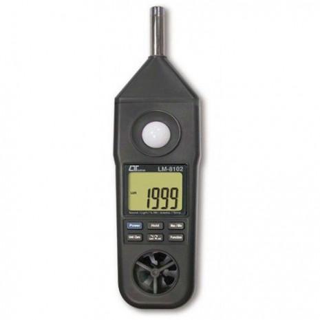 Thiết bị đo độ ồn, tốc độ gió, ánh sáng, độ ẩm, nhiệt độ môi trường LM-8102