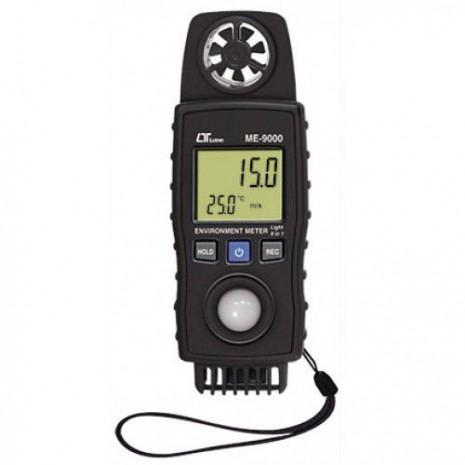 Thiết bị tốc độ gió, ánh sáng, nhiệt độ, độ ẩm môi trường ME-9000