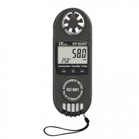 Thiết bị đo tốc độ gió, lưu lượng gió, độ ẩm, nhiệt độ SP-82AH
