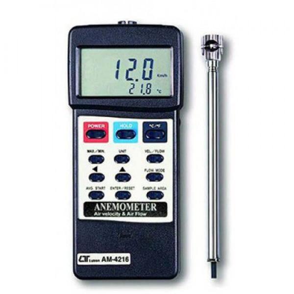 Thiết bị đo tốc độ gió, lưu lượng gió, nhiệt độ môi trường AM-4216