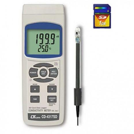Thiết bị đo độ dẫn điện của nước CD-4317SD