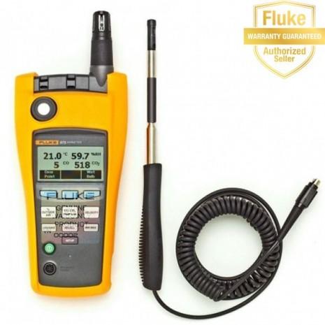 Dụng cụ đo áp suất, lưu lượng gió Fluke 975