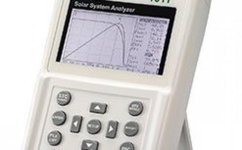 Kiểm tra mọi thông số năng lượng mặt trời với máy phân tích hệ thống PV PROVA 1011